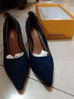 Patrizio heels blue