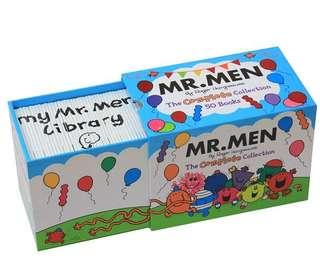 🚚 Mr. men with 50 books