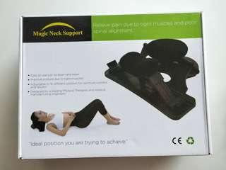🚚 Neck Cervical Traction Magic Neck Support Neck Pain Reliever Health Gear