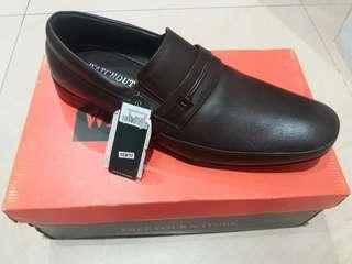 Sepatu 100% full kulit merk watchout