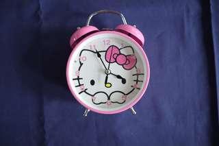 Jam Weker Hello Kitty Pink