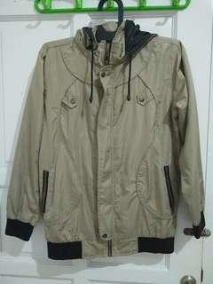 Jaket parka hoodie outer/outwear