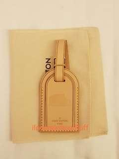 Brand new Louis Vuitton luggage bag tag special edition (Rome)