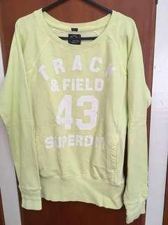 Superdry crew neck top