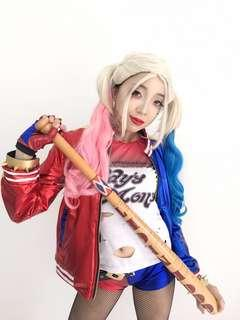 DC Harley Quinn Suicide Squad Premium Cosplay Costume Rental - Halloween / Event / Annual Dinner / Party (Movie Character)