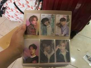 GOT7 photocards(Present:You and Eyes On You)