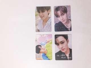 mingyu photocards