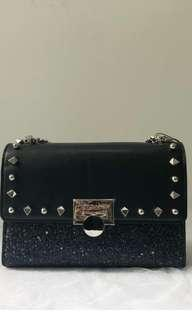 Charles n keith stud clutch