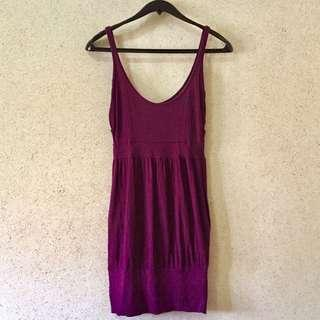 Kersh Purple Summer Dress