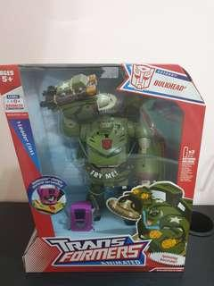 Transformers Animated Bulkhead with Headmaster