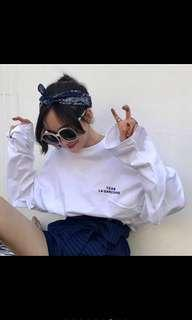 Korean causal long sleeves shirt