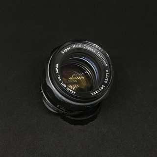 Super multi coated takumar 50mm 1.4 - Sony