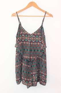 Aztec playsuit