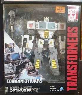 Transformers Combiner Wars Optimus Prime White Variant
