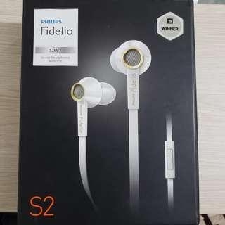 philips fidelio s2 白色