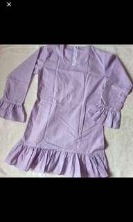 Baju Kurung Ruffle