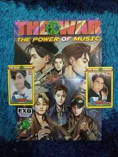 EXO THE WAR REPACKAGE POWER