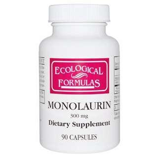 Cardiovascular Research Ltd., Monolaurin, 300 mg, 90 Capsules