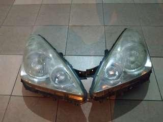 Toyota wish headlamp no HID