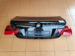 BMW E90 Rear Bonnet + Tail Lights