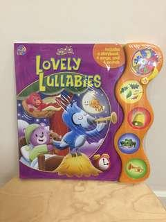 Children book LOVELY LULLABIES with sound