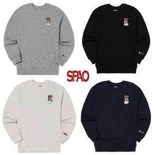 SPAO X WE BARE BEARS PULLOVER