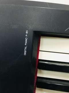 Digital Yamaha Piano P85
