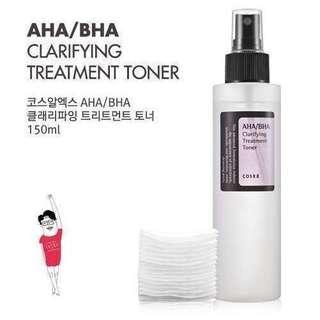 🚚 Cosrx AHA BHA Clarifying Treatment Toner