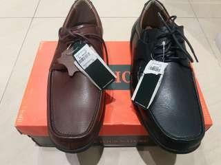 Sepatu 100% kulit asli merk watchout