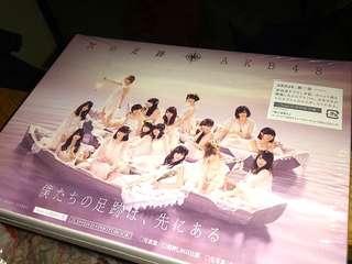 AKB48 次の足跡 初回限定盤A 除生寫全齊