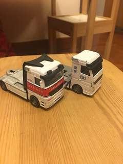 Second hand toy cars 警察貨櫃車頭