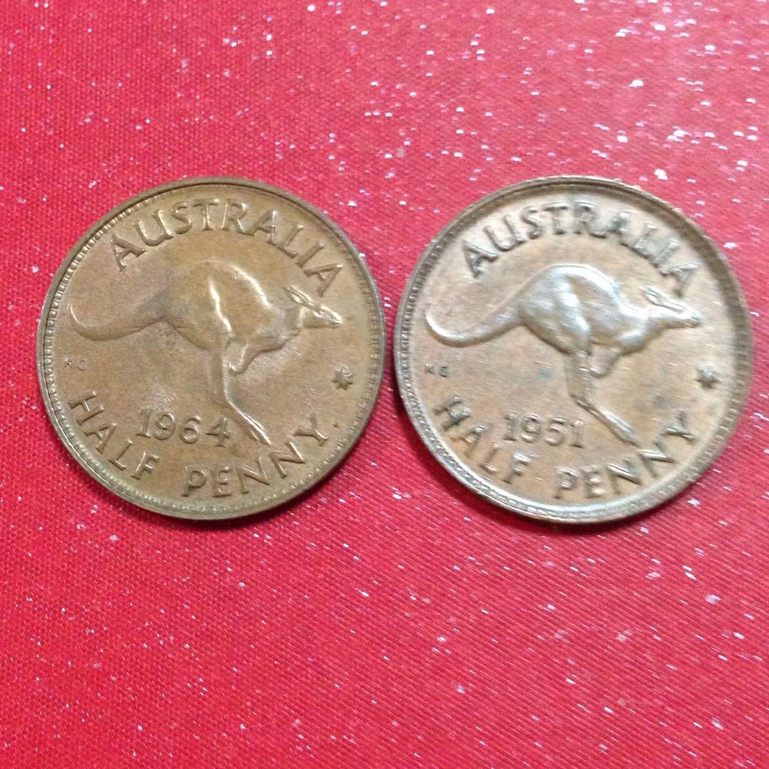 1951/64 Australia half penny