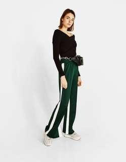 Bershka Sweater with Crossover Front Details