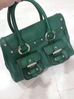 Luella green bag