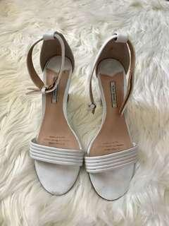 Tony Bianco White Wedges