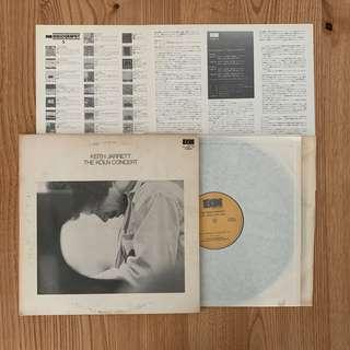 Keith Jarret - The Koln Concert Vinyl (Japan 1975)