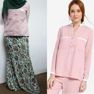 ZALIA TOP AND LUBNA SKIRT