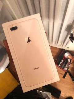 ORIGINAL IPHONE 8PLUS 64GB (Rose gold)