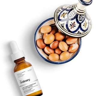 🚚 The Ordinary 100% Organic Cold-Pressed Moroccan Argan Oil