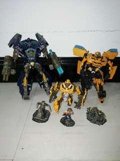 Transformers Movie Ironhide & Bumblebee [Voyager]