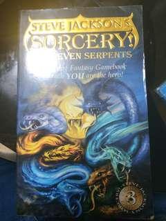 Steve jackson sorcery.  The seven serpents