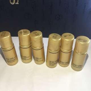 Sum37 sample 全圖6支emulsion 不包郵