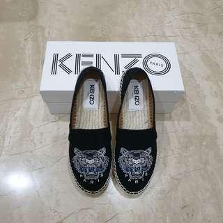 Kenzo Espadrilles Tiger in Black