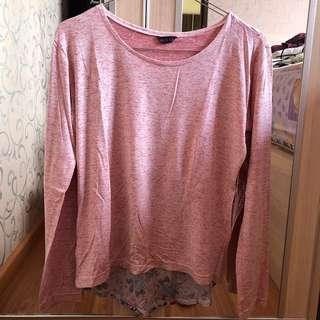 [No Brand] Pink Floral Top