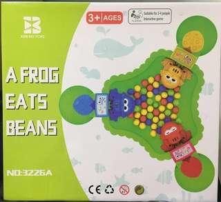 🚚 桌遊|青蛙愛吃豆