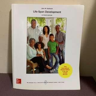 🚚 Life Span Development Textbook
