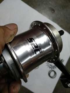 Sturmey Archer Duomatic S2C Kickshift