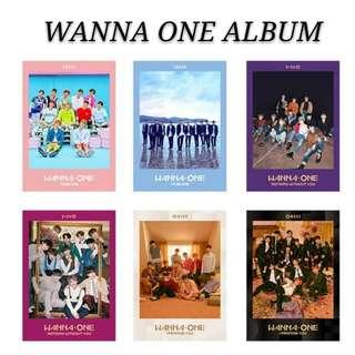 [ PRE-ORDER]WANNA ONE ALBUM