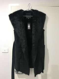 Forever new fur jacket - 14
