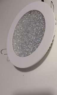 TRUE LED Downlight with Crystal Cover